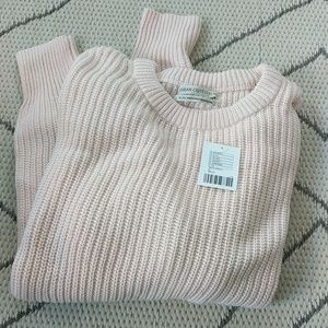 NWT urban outfitters pink sweater